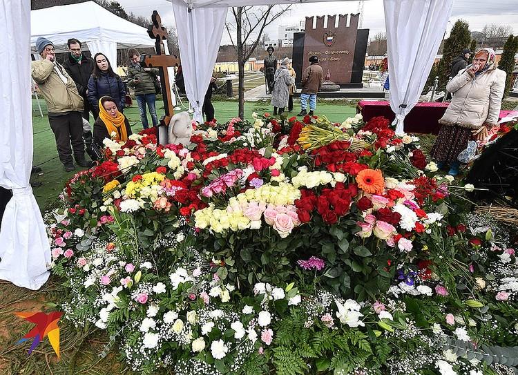 21 марта прошли похороны артистки