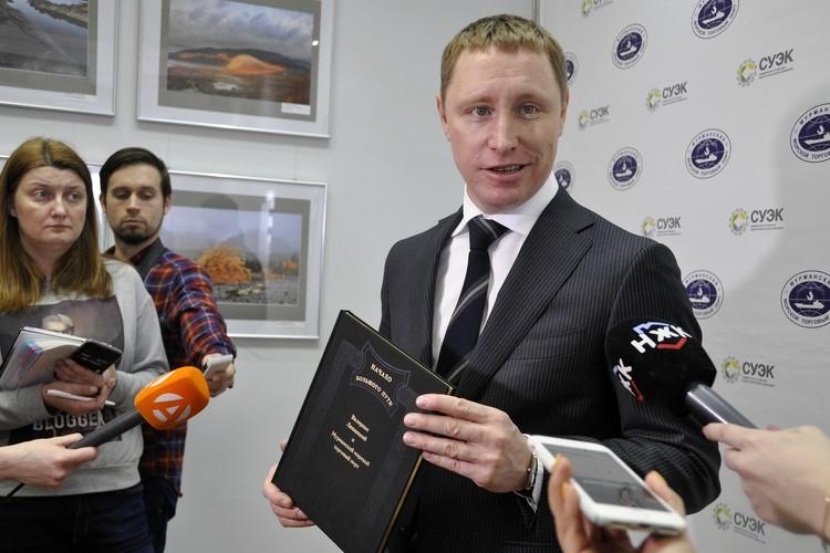 Генеральный директор Мурманского морского торгового порта Александр Масько.