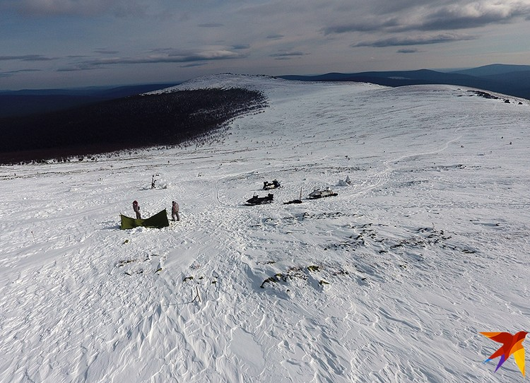 На этом склоне зимой 1959 года пропали девять туристов, ушедших в поход под руководством Игоря Дятлова