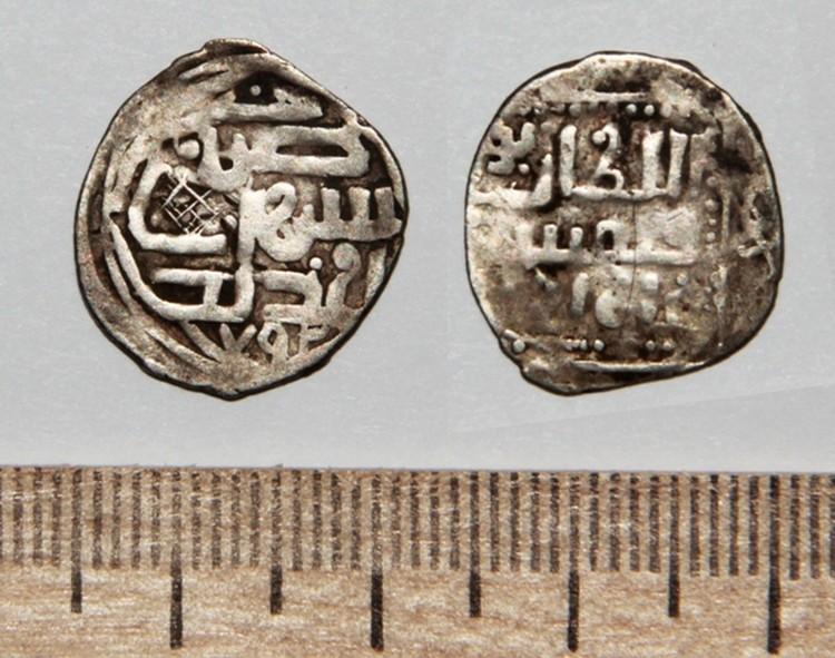 Монету времени правления хана Тохтамыша 1390 года редко удается найти