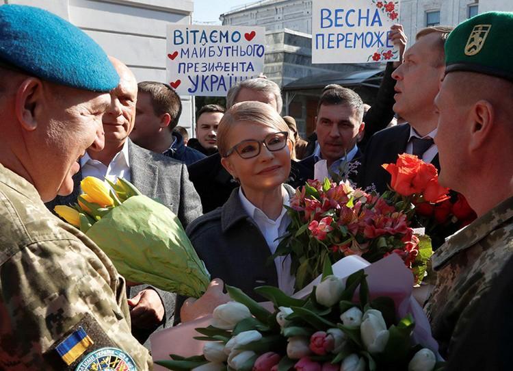 Тимошенко вышла в лидеры только на Ивано-Франковщине