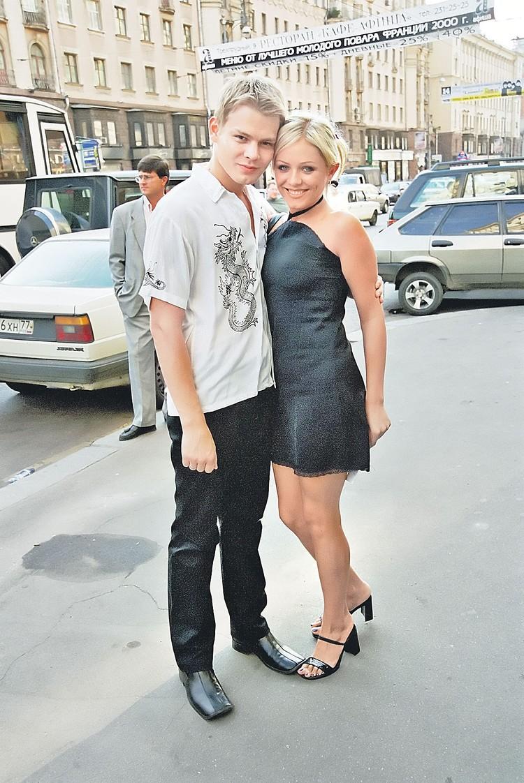 Юлия Началова и Дмитрий Ланской поженились в 2001 году. Юле тогда было 19 лет, Диме - 23. Фото: Анатолий Ломохов