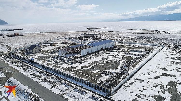Строительство китайского завода в Култуке фактически продолжается. Фото: Анатолий АРХИПЕНКО