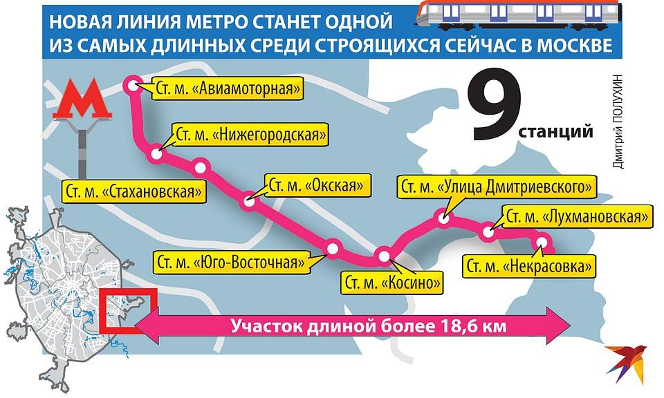 строящиеся станции метро на карте москвы и московской области на карте