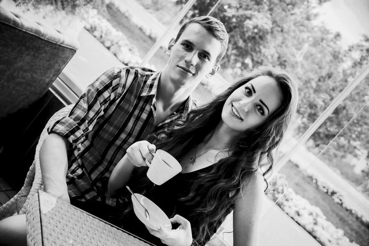 Лиза и Дмитрий жили вместе