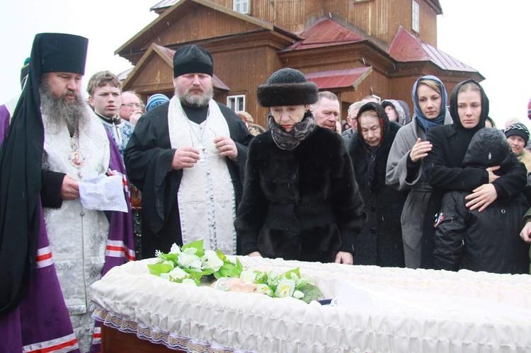 Похороны Валерия Золотухина