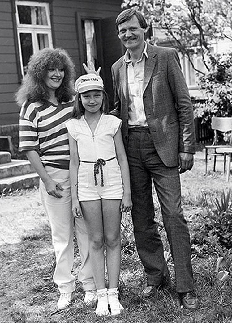 Семейный снимок 1981 года из личного архива Миколаса Орбакаса.