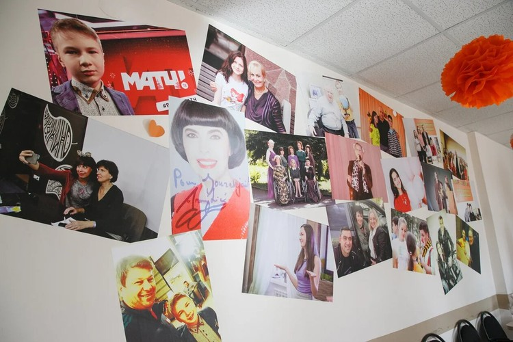 На этих фотографиях ученики Ольги Чирковой с гостями «Журавейника»