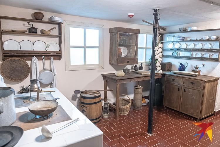 Кухня, где служил поваром Спиридон Путин.
