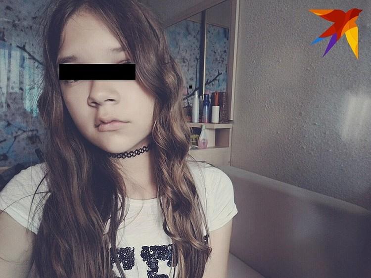 А это юная Полина. За год до убийства она украла из магазина кроссовки, после чего и попала на учет в ПДН. Фото: соцсети