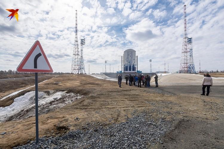 Ракета-носитель стартует с уже действующего стартового комплекса