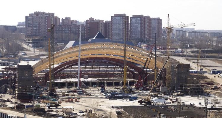 Очертания арены мы увидим уже осенью