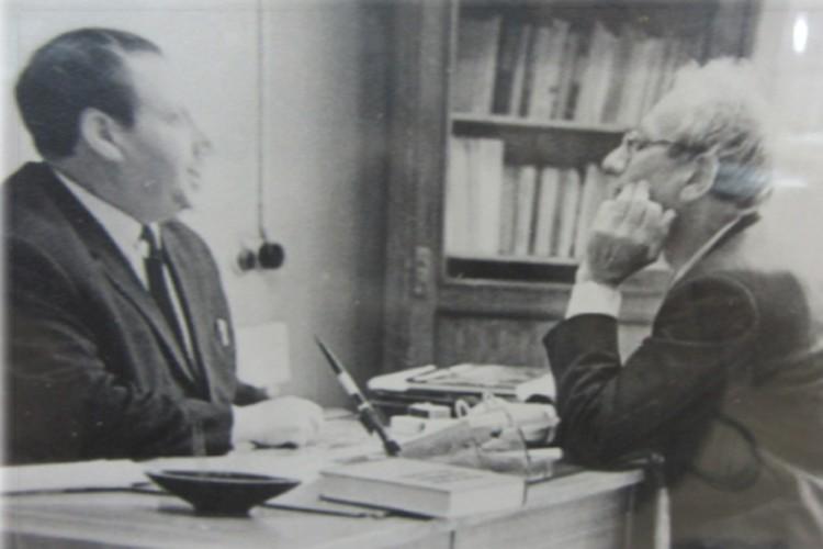 Верт и Каменецкий, 1967 год. Фото: Из архива школы №367
