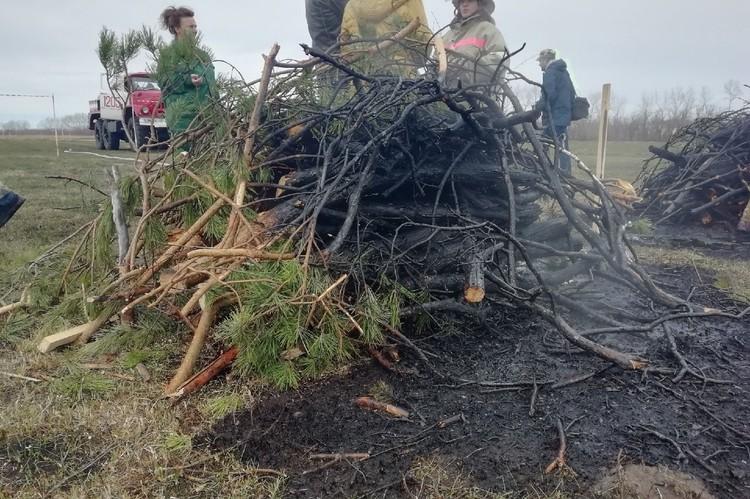 Не все лесные пожары можно потушить полностью