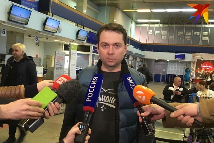 В воздушной гавани Мурманска сейчас организован оперативный штаб, который возглавил врио губернатора Андрей Чибис.