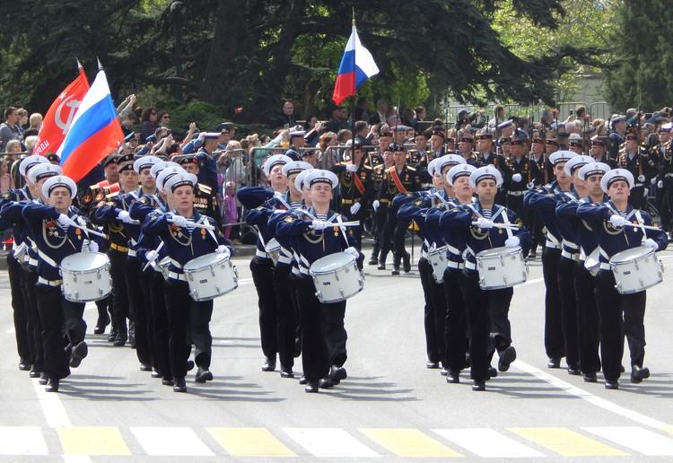 Парад в Севастополе начнется в 10.00.