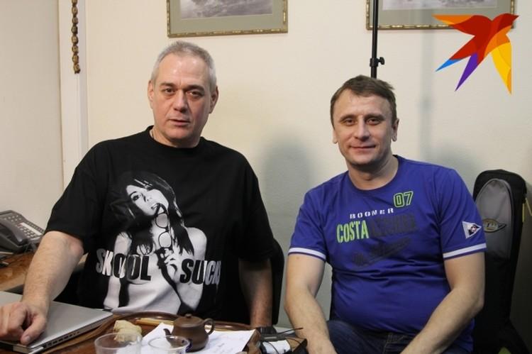 """С обозревателем """"КП"""" Владимиром Ворсобиным"""