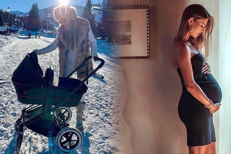 Валентина Григорьева родила Михаилу Абызову сына в октябре 2018 года.