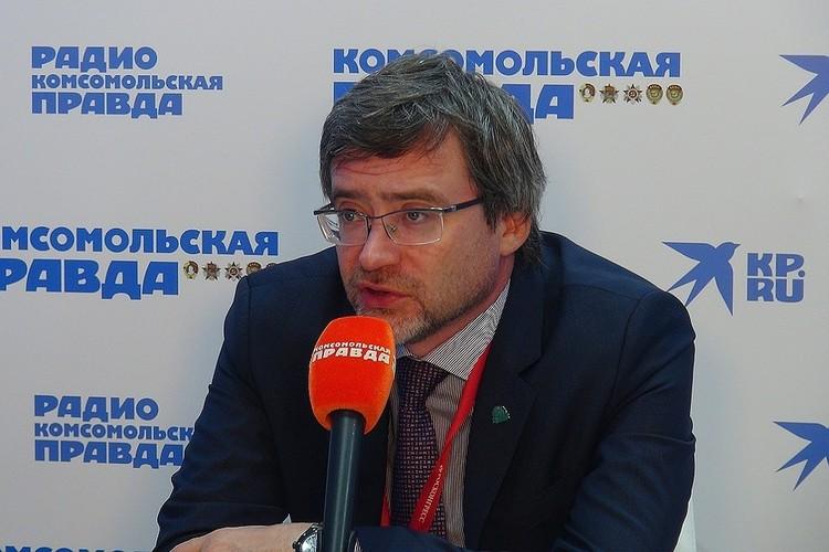Глава ВЦИОМ Валерий Федоров