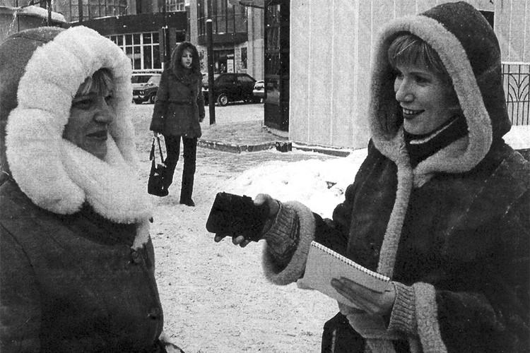 Ольга Гилязева работала журналистом как раз во время становления кировской редакции. Фото: архив «КП»
