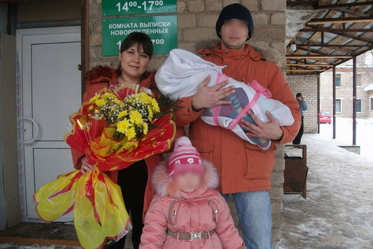 Вместе с Луизой исчезли муж и дети
