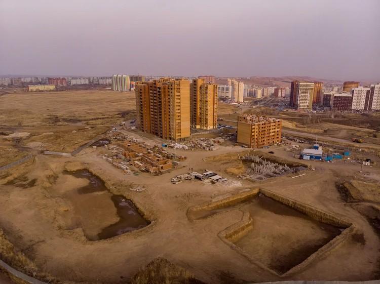ЖК «Фестиваль»: по вине застройщика его строительство было остановлено. Фото: предоставлено конкурсным управляющим СК «Реставрация»