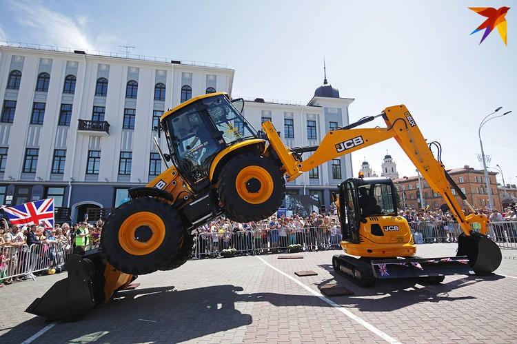 В мире есть не только белорусские тракторы.