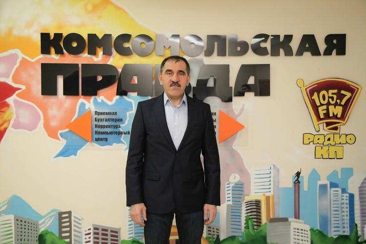 Глава Ингушетии в редакции «КП» в Ставрополе
