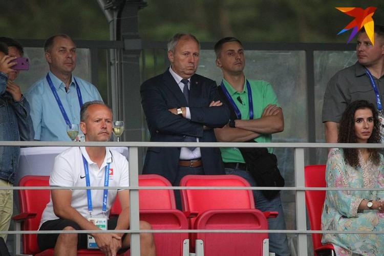 Сергей Румас не пропускает матчи сборной.
