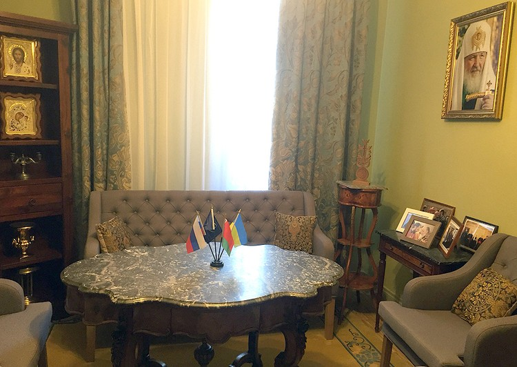 Комната для приема иностранных гостей.