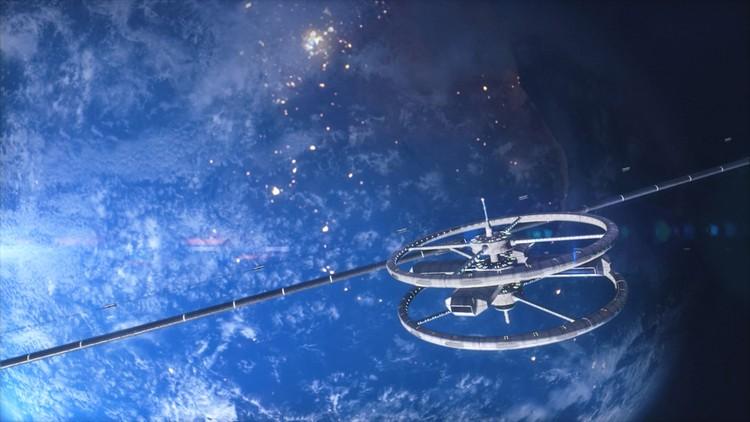 Проект ОТС – геокосмический транспорт будущего ,который будет отличаться от современных ракетных решений высокой скоростью, экологичностью и эффективностью.