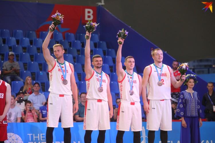 Баскетбол 3x3. Мужская сборная Беларуси выиграла бронзу.