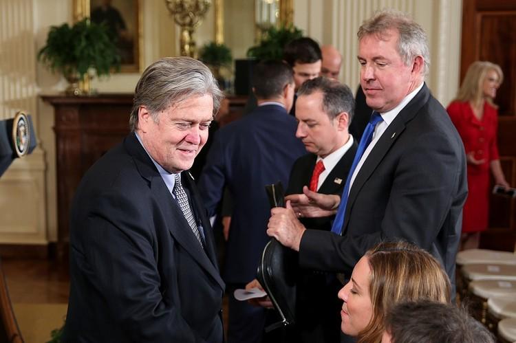 Английский посол Ким Деррок в Белом доме
