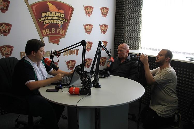 Одна из сцен фильма проходила в радиостудии «Комсомолки». Фото: Илья БОГОМОЛОВ
