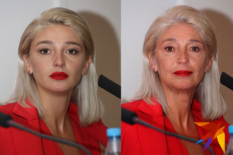 Сейчас Насте Ивлеевой 28 лет. Но пенсионерка из нее может получиться, что надо!