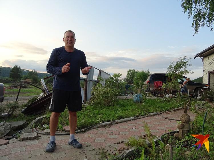 Бизнес уплыл почти полностью, - говорит Игорь Копытко