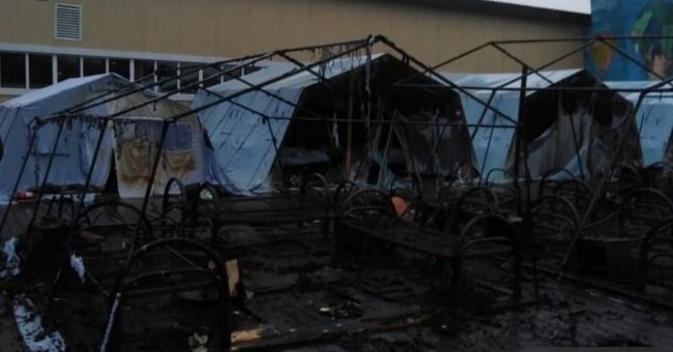 В 4:46 огонь был полностью ликвидирован. Фото: ГУ МЧС России по Хабаровксому краю.