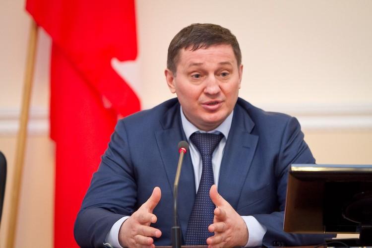 Губернатор Волгоградской области Андрей Бочаров. Фото volgograd.ru