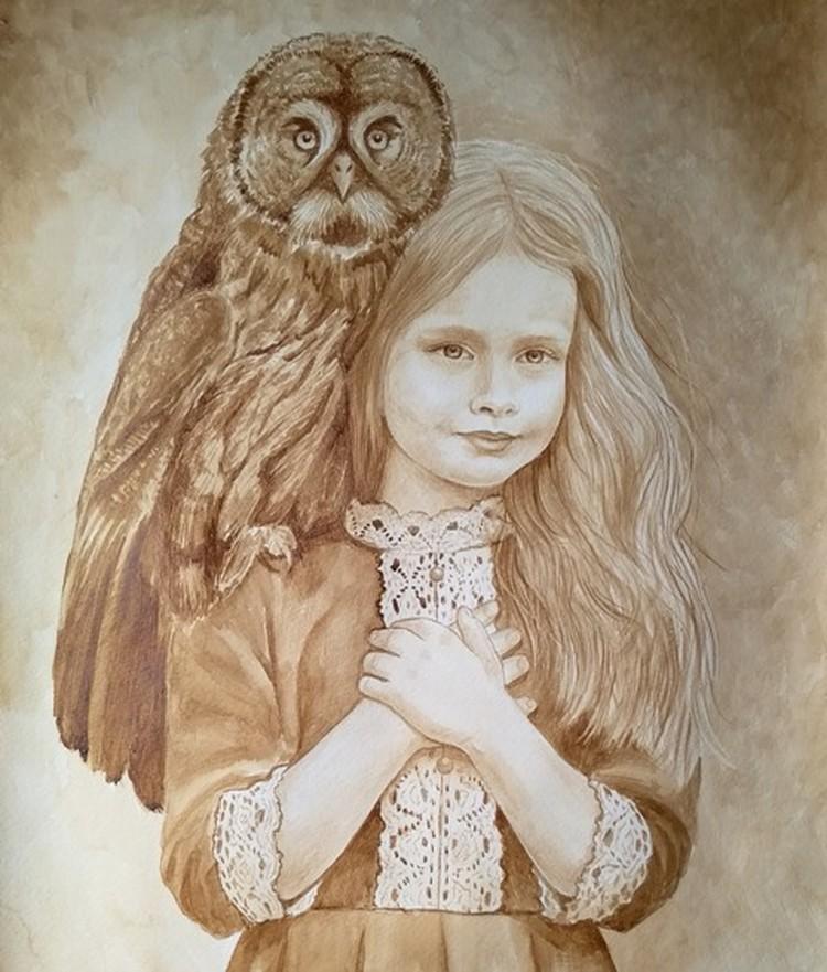 Картина Юлии Латте.