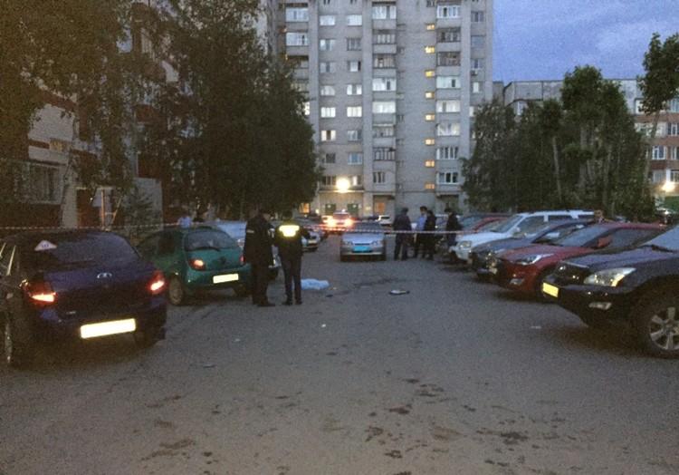 Ночью на улице Пушкина в Сургуте погиибли два человека. Фото с сайта СУ СК по ХМАО-Югре