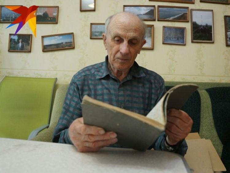 Павел Тарзин сохранил в своем архиве дневник, который он с товарищами вел в походе 1957 года.