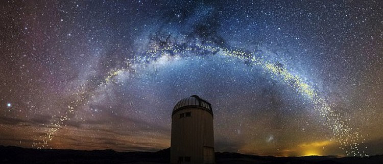 Соседний рукав Млечного пути: виден из нашего рукава.