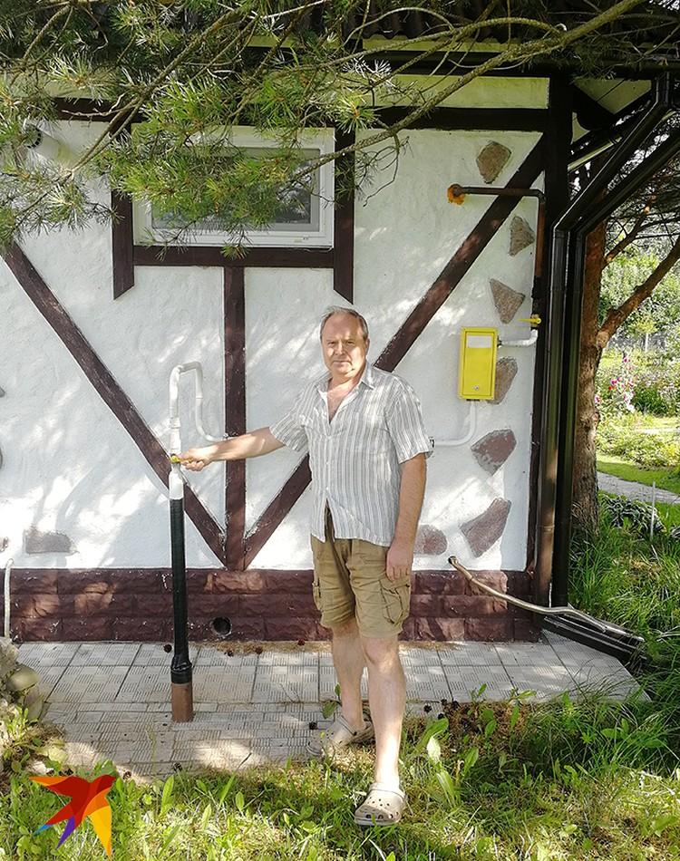 По поводу газа Кудряшов с соседями писал письмо Путину, в Общественную палату, еще в кучу мест