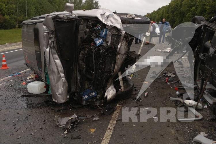 Авария произошла на 405 км трассы М5