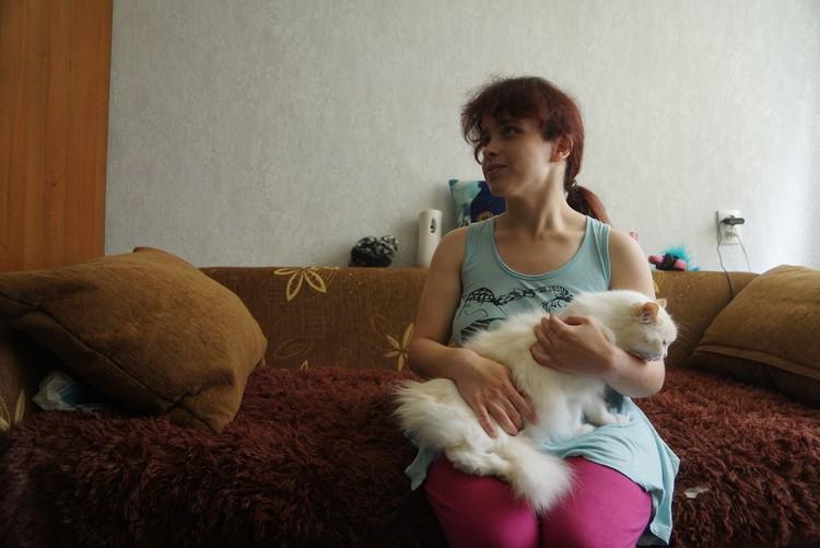 У Вероники есть кошка Белка