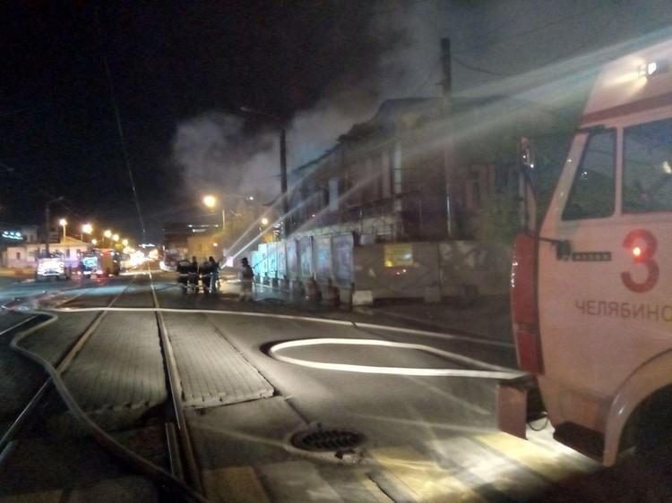 Пожар случился вечером 9 августа.