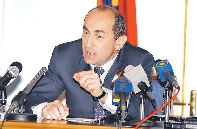 Второй президент Армении Роберт Кочарян.