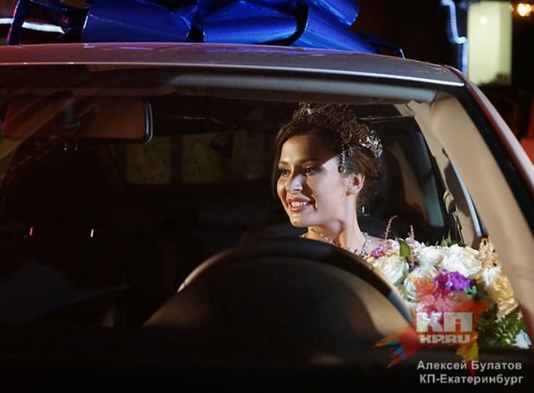 В 2014 году Софии Никитчук вручили ключи от SKODA RAPID