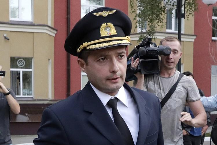 Командир самолета Airbus А321 Дамир Юсупов. Фото Михаил Метцель/ТАСС