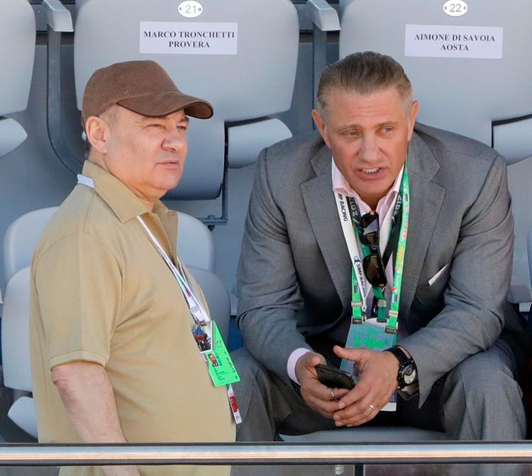 Аркадий Ротенберг и Борис Ротенберг. Фото: Михаил Метцель/ТАСС
